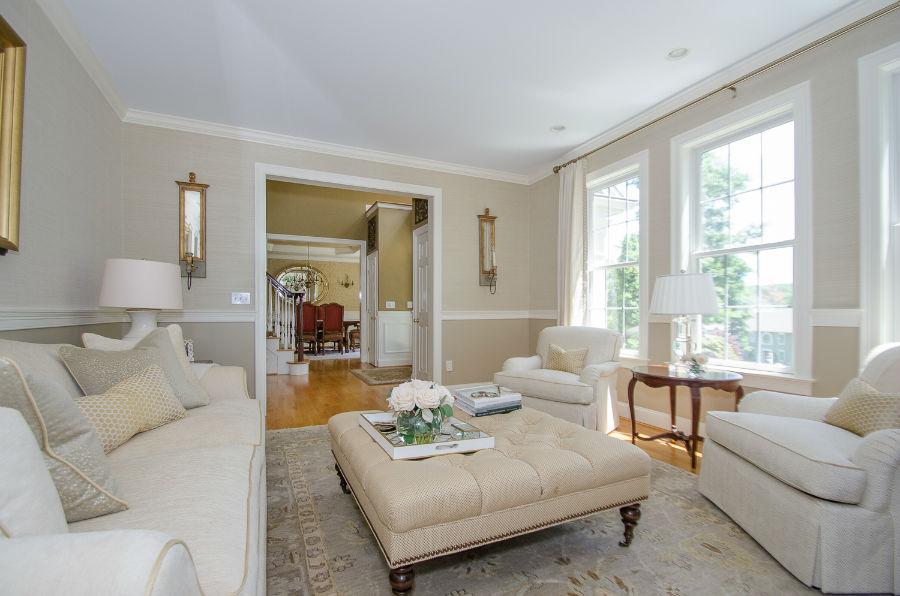 Living Room Ottoman Verve Design