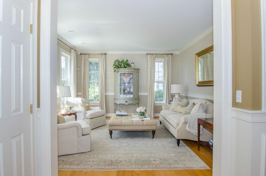Verve Design Neutral Living Room