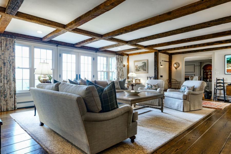 Antique Living Room Verve Design