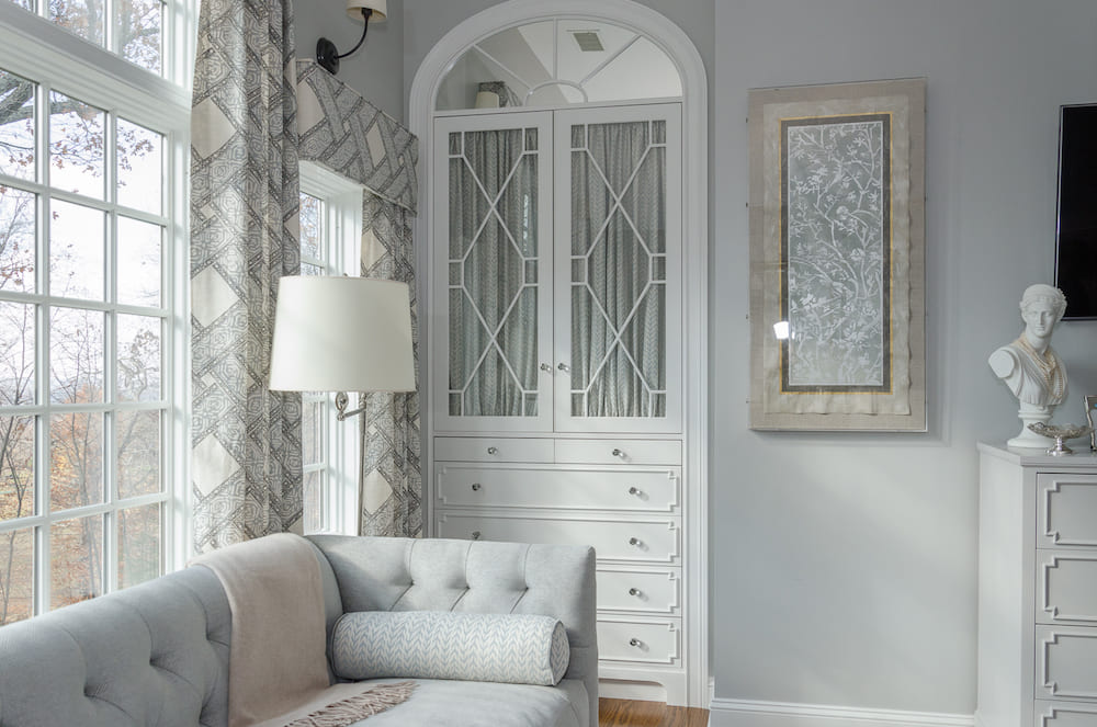 Custom Master Bedroom Armoire built-in
